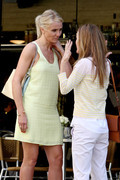 Cameron Diaz - on the set of 'The Other Woman' in NYC 5/7/13