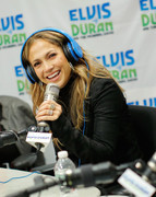 Jennifer Lopez - at Z100 Studio in NYC 5/8/13