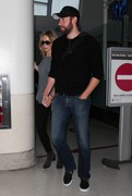 Emily Blunt - at LAX Airport 5/9/13