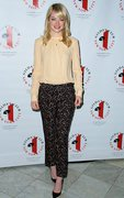 Emma Stone - Gilda's Club Luncheon in NYC 5/15/13