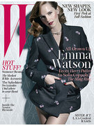 Emma Watson W Magazine cover (June 2013)