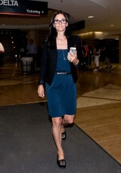 Courteney Cox - at LAX Airport 5/16/13