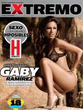 Gaby Ramirez revista H Extremo