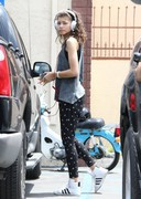 Zendaya Coleman - at DWTS rehearsals in Hollywood 5/17/13