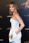 Jennifer Lawrence The Hunger Games Catching Fire Party 4