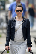 Jessica Biel - out in NYC 5/22/13