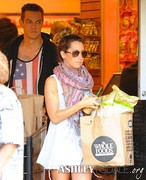 Ashley Tisdale - Grocery shopping in Sherman Oaks 5/21/13
