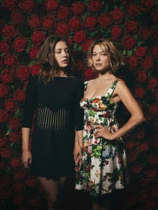 8a8b14256648851 Léa Seydoux and Adèle Exarchopoulos in Another Unknown 2013 Photoshoot photoshoots