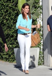 Cindy Crawford - leaving a salon in West Hollywood 5/28/13