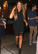 Khloe Kardashian - Leaving her hotel in NYC 5/28/13