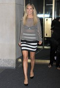 Heidi Klum - outside NBC Studios in NYC 6/17/13