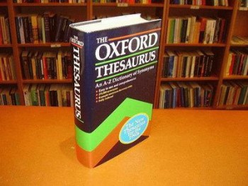 Laurence Urdang, The Oxford Thesaurus