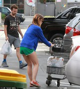 Olivia Wilde - at a grocery store in LA 6/23/13