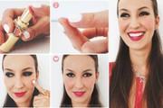 Lipstik dijadikan blush on - Ist