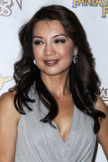 Ming-Na Wen - 2013 Saturn Awards in Burbank 6/26/13