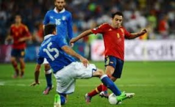 spanyol vs italia, piala konfederasi