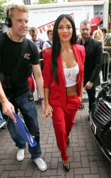 Nicole Scherzinger - X Factor auditions in Cardiff 7/3/13
