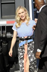 Diane Kruger - arrives at Jimmy Kimmel Live in Hollywood 7/9/13