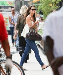 Katie Holmes - out in NYC 7/9/13
