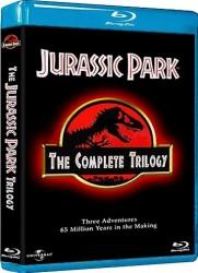 Jurassic Park Trilogia (3 Blu-Ray) [1993/1997/2001] Full Blu Ray VC-1 DTS-HD MA 7.1