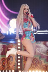 Iggy Azalea - Performing at the Yahoo! Wireless Festival in London 7/13/13