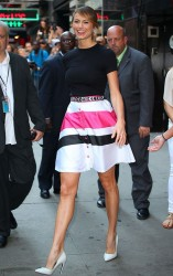 Stacy Keibler - at GMA studios in NYC 7/17/13