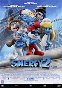 Przód ulotki filmu 'Smerfy 2'