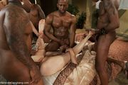 Bella Rossi in Rough Interracial Gangbang with Creampie - Kink/ HardcoreGangBang (2013/ HD 720p)
