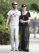 Anne Hathaway - out in LA 7/20/13