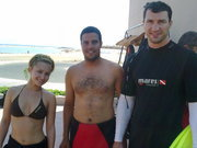 Hayden Panettiere and Wladimir Klitschko at the Beach - May 2010