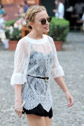 Kylie Minogue - out in Portofino 7/26/13
