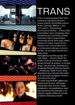 Tył ulotki filmu 'Trans'