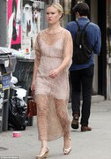Julia Stiles - out in NY 8/1/13