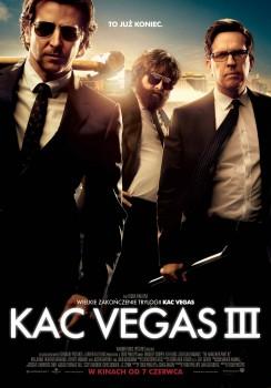 Polski plakat filmu 'Kac Vegas III'