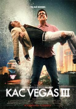 Przód ulotki filmu 'Kac Vegas III'