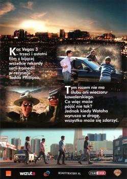 Tył ulotki filmu 'Kac Vegas III'