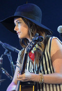 Kacey Musgraves -  performs during Kenny Chesney's No Shoes Nation on Zac Brown's Southern Ground Tour in Atlanta 8/3/13