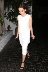 Emilia Clarke - at the Chateau Marmont in Hollywood 8/3/13