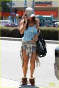 Vanessa Hudgens - Out in LA 8/5/13