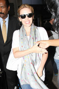 Kylie Minogue - at LAX Airport 8/6/13