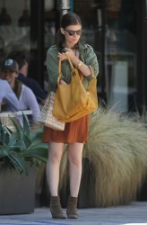 Kate Mara - out in LA 8/8/13
