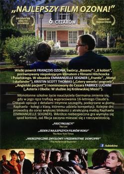 Tył ulotki filmu 'U Niej W Domu'