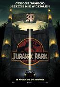 Polski plakat filmu 'Jurassic Park 3D'