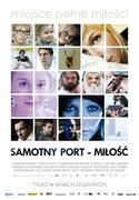 Polski plakat filmu 'Samotny Port – Miłość'