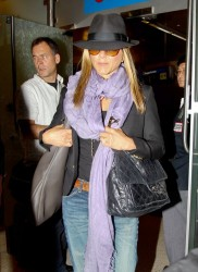 Jennifer Aniston - at LAX Airport 8/17/13