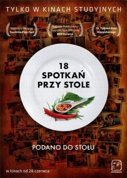 Przód ulotki filmu '18 Spotkań Przy Stole'