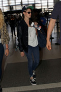 Kristen Stewart - At LAX Airport 8/19/13