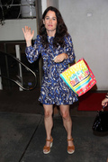Robin Tunney at Madeo restaurant, West Hollywood - 08/18/13