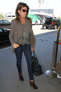 Cindy Crawford - at LAX Airport 8/21/13