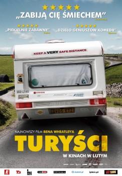 Polski plakat filmu 'Turyści'